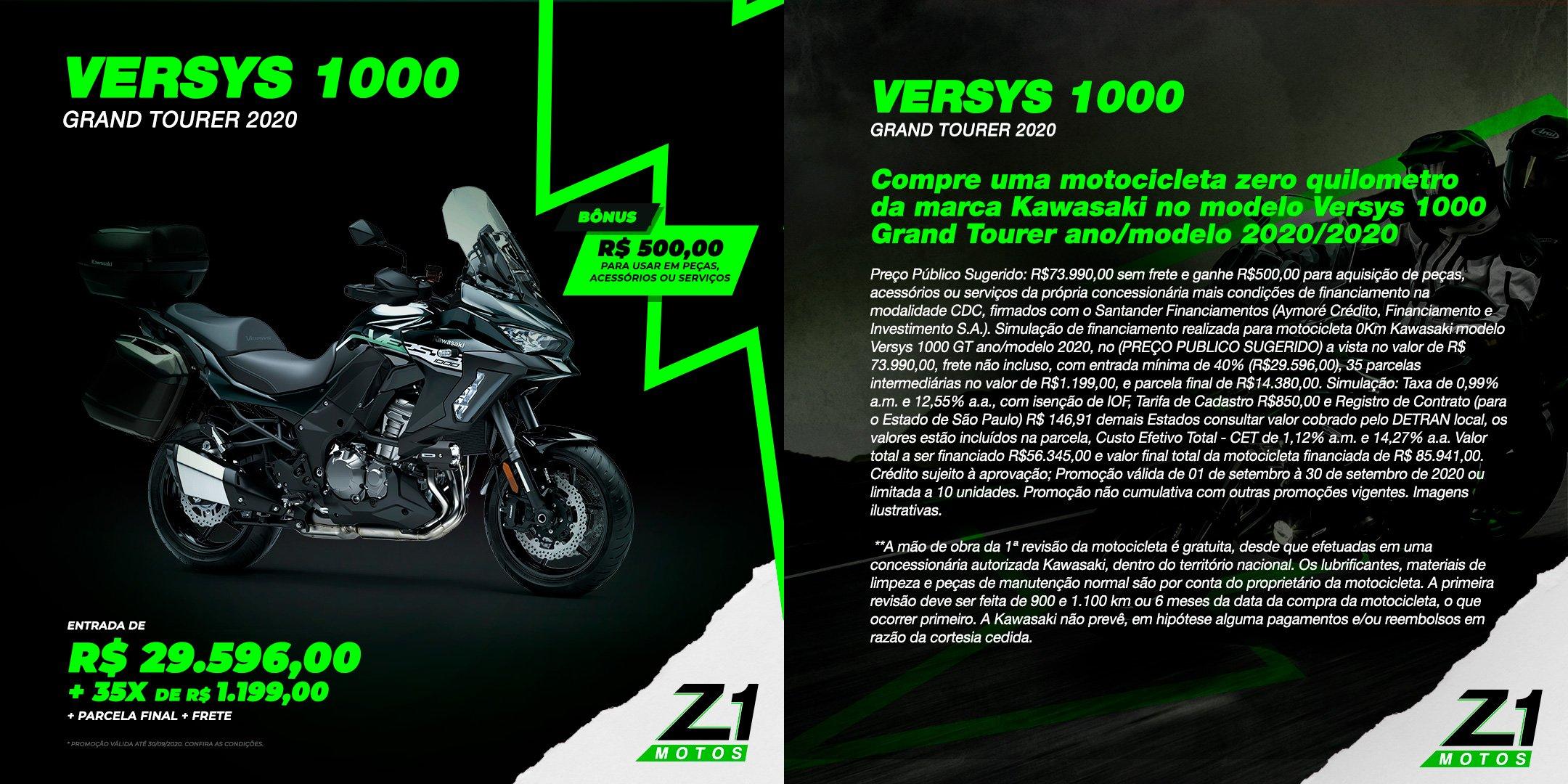 Versys 1000 Grand Tourer 2020